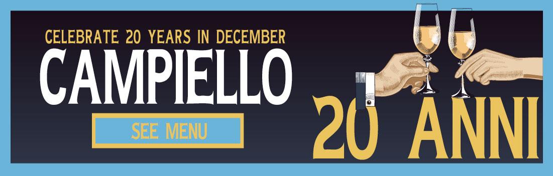 Campiello Eden Prairie 20 Anniversary December